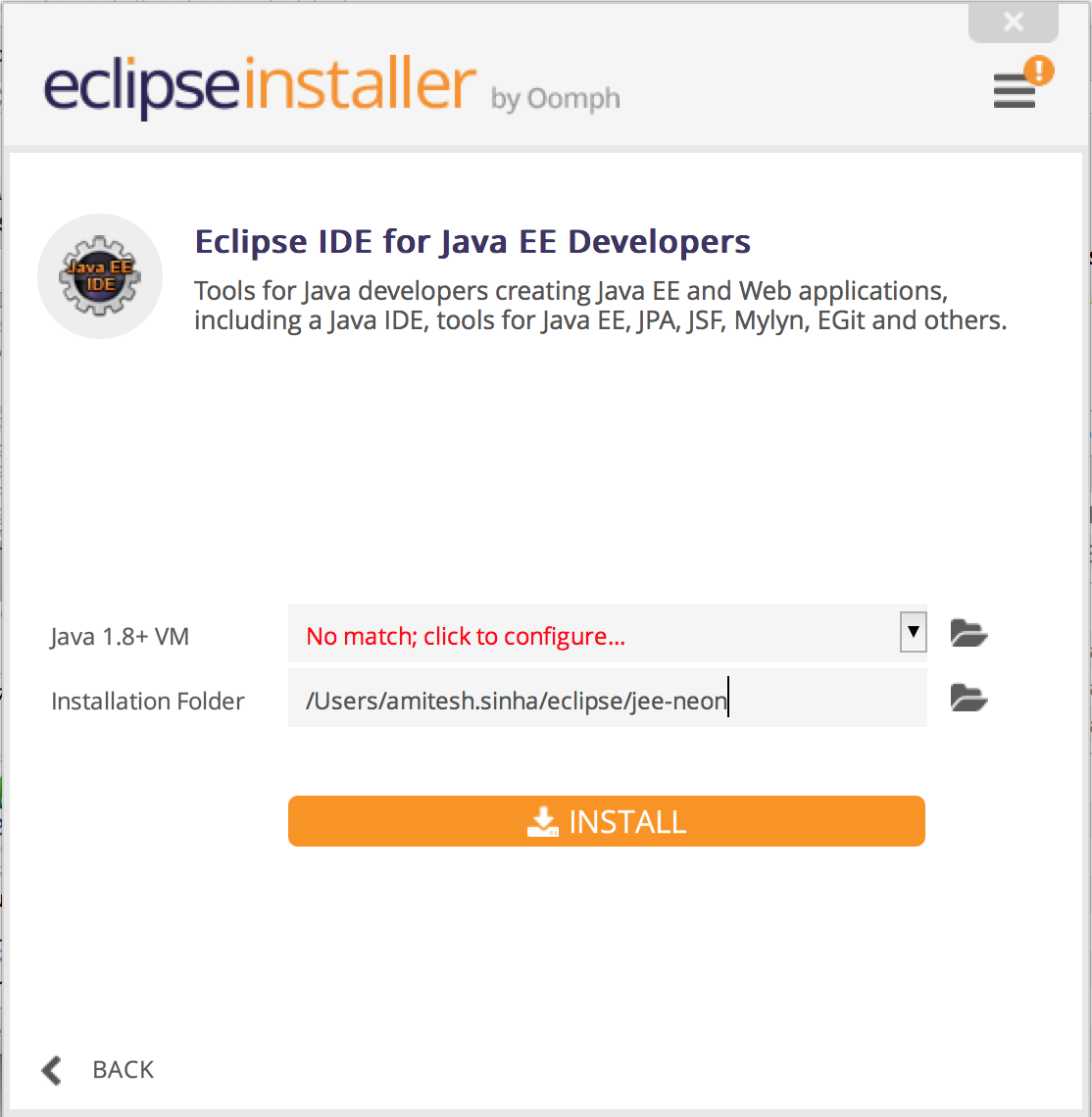How to install eclipse ide core java and sdet training selecting the java ee version will take you to this screen baditri Gallery